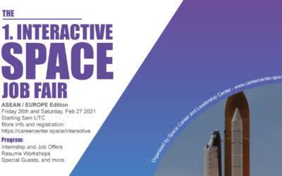 1st Interactive Space Job Fair